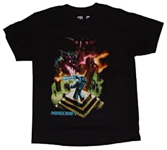 MINECRAFT Boys T-shirt (XL (14/16))