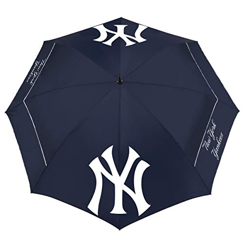 "Team Effort MLB New York Yankees 62"" Windsheer Lite Umbrella62 Windsheer Lite Golf Umbrella, Multi, NA"