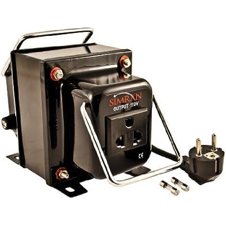 Simran THG 2000 Step Down Voltage Transformer 2000 Watts Converts AC 220 240 Volt To 110 Volt