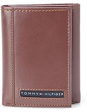 تومي هيلفغر جلد بني للرجال - محفظة