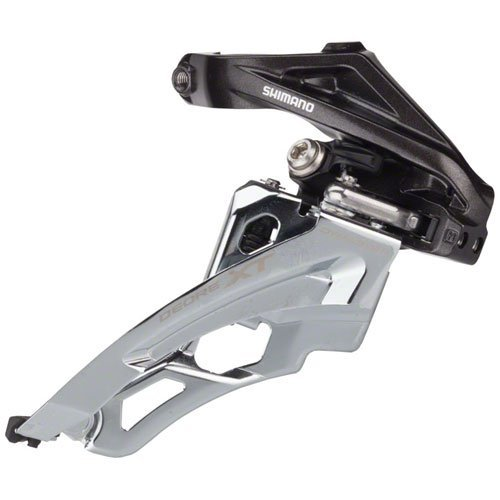 Shimano Deore XT M8000 Top Pull Front Derailleur - Triple - 34.9mm clamp - Xt Top
