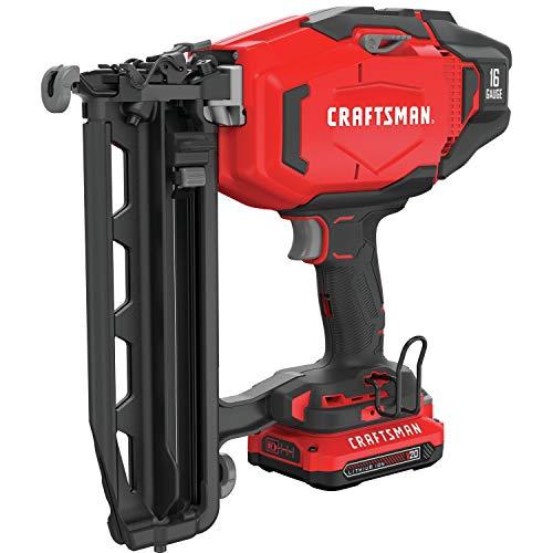 CRAFTSMAN CMCN616C1 V20 16GA Cordless Finish Nailer Kit