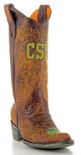 UPC 848676003136, NCAA Colorado State Rams Women's 13-Inch Gameday Boots, Brass, 10 B (M) US