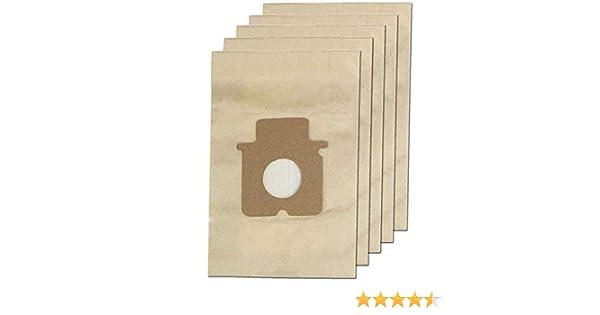 Paquete de 5 bolsas para aspiradoras Panasonic de la marca ...