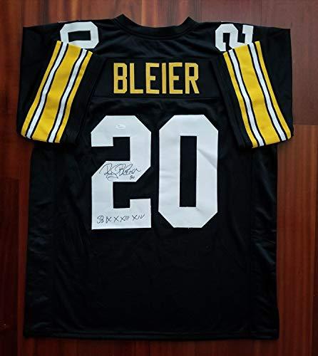 ddd41ee9e Rocky Bleier Autographed Signed Jersey Pittsburgh Steelers Memorabilia JSA