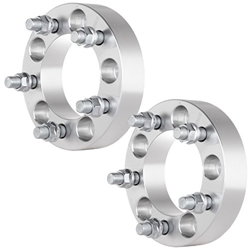 ECCPP 2X 1.25 5 Lug Wheel Spacers 5x4.5 to 5x4.5 for Jeep Cherokee Comanche Cherokee with 1/2