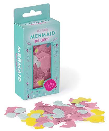 Fizz Creations for iscream Fun and Colorful Rose Scented Magical Mermaid Melting Bath Confetti (Christmas Bath Confetti)
