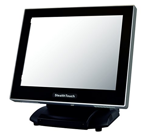 Pioneer Pos GM2X0F15091J Stealth S-Line Touch Computer, Atom Dual Core 2.1 GHz Processor, 15