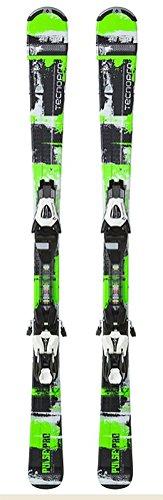 Tecno Pro Child Tecno Pulse Pro Green Carving Skis + ETC45 ETL75 Binding  Set Green 3576b8fb808