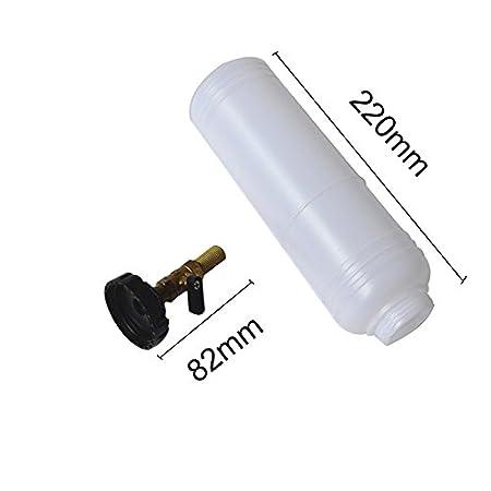 Limpiador de freno y embrague, 1 L, neumático, herramienta de repuesto de aceite de freno (dos jarros): Amazon.es: Coche y moto