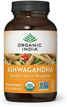 Amazon.com: ORGANIC INDIA Ashwagandha Supplement, Healthy Stress ...