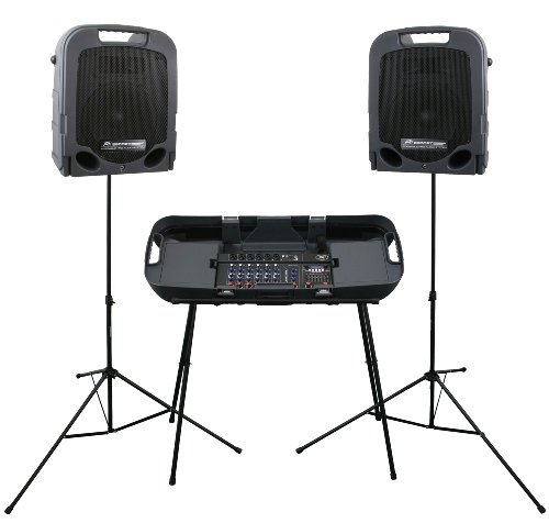 Peavey Escort 3000 - 300W 7-Channel, Two-Way Speaker System with 10-Inch -