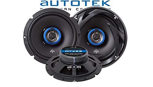 Lautsprecher Boxen Autotek ATX-62 JUST SOUND best choice for caraudio 2-Wege 16cm Koax Lautsprecher 16,5cm Auto Einbauzubeh/ör Einbauset f/ür VW Bus T4 Front
