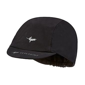 Sealskinz 1311412001-M Waterproof Cycling Cap, Medium, Black