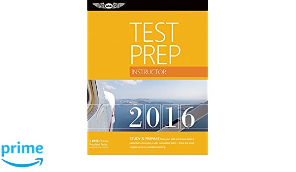 Instructor Test Prep 2016 Book and Tutorial Software Bundle: Study ...