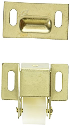 Slide-Co 241938 Closet and Cabinet Roller Catch, Brass Plated