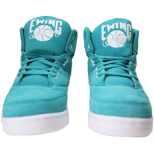 Teal white Shoes Turquoise Athletics Ewing Mens Soft Hi 33 White Turquoise Basketball 7YwwnPv8