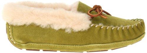 Acorn Sheepskin Moccasin Slipper Moxie Olive Women's Z0qWZ67a