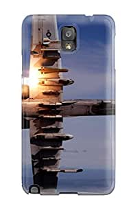 Jim Shaw Graff's Shop 2159220K19178304 Defender Case With Nice Appearance (a 10 Thunderbolt Ii During Live Fire Training) For Galaxy Note 3