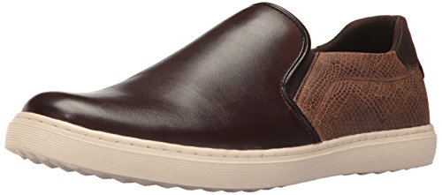 Steve Madden Hombres Gallagher Fashion Sneaker Marrón