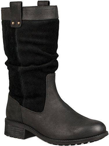 UGG Womens Bruckner Boot Black Size 7