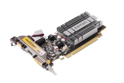 ZOTAC GeForce 8400 1GB DDR2 PCI Express 2.0 DVI/HDMI/VGA Graphics Card, ZT-84GEK2M-HSL