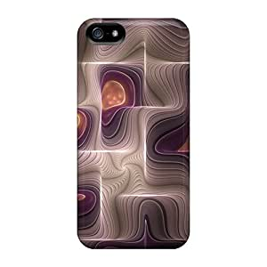 Top Quality Protection Abstract Case Cover For Iphone 5/5s