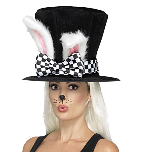 Tea Party March Hare Hat Adult Costume Accessory ()