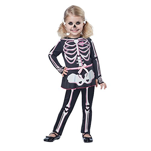 California Costumes Itty Bitty Bones Toddler Costume, Size 3-4 -