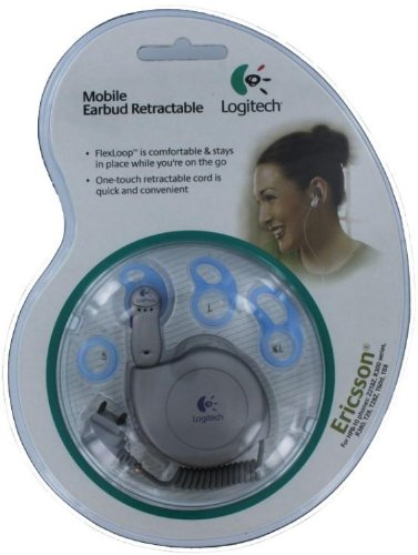 Logitech Mobile Earbud Retractable