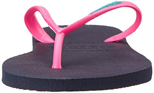 Orchid Sandals navy US Havaianas 6 B 5 35 Women's Rose M Flip pink blue Slim Tropical BR Flip qwAYUSw