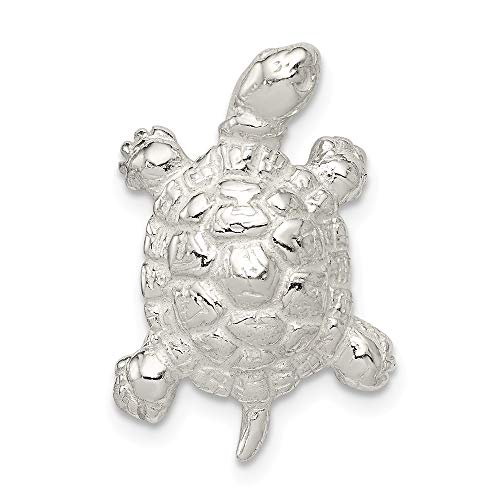925 Sterling Silver Turtle Pendant Charm Necklace Sea Life Animal Snake Reptile Fine Jewelry Gifts For Women For Her (Dresses Tiffany Dog Blue)