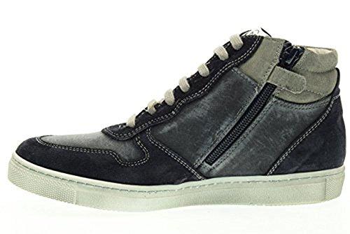 Blau Giardini Jungen Junior Nero Sneaker wSzIcAFInq