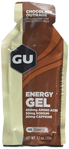 GU Energy Gel – Chocolate Outrage (6 x 1.1oz Packs)