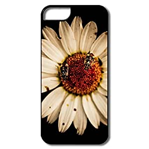 IPhone 5 5S Covers, Sunflower White/black Cases For IPhone 5