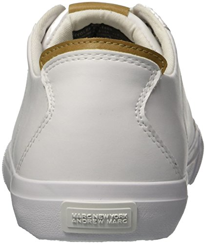 Marc New Andrew Mens Sneaker Marc York Glenmore White by Tan wgIdnqF