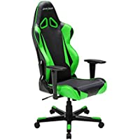 DXRacer OH/RB1/NE Ergonomic, High Quality Computer Chair for Gaming, Executive or Home Office Racing Series Green / Black