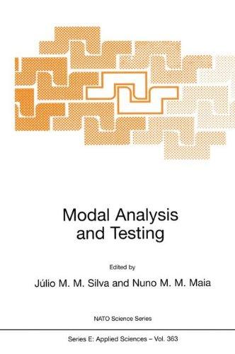 Modal Analysis and Testing (Nato Science Series E:)