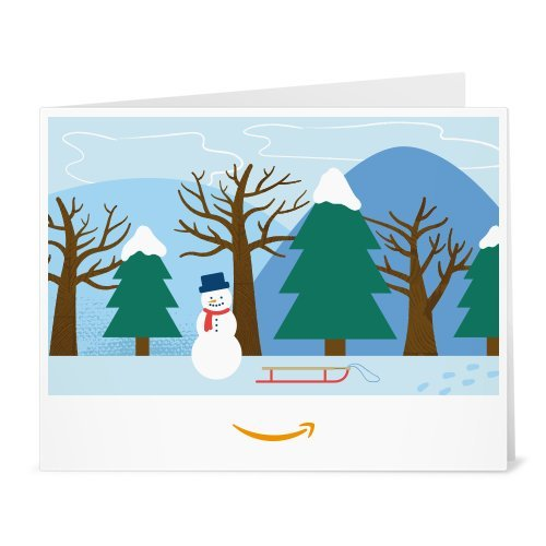 Amazon Gift Card - Print - Winter