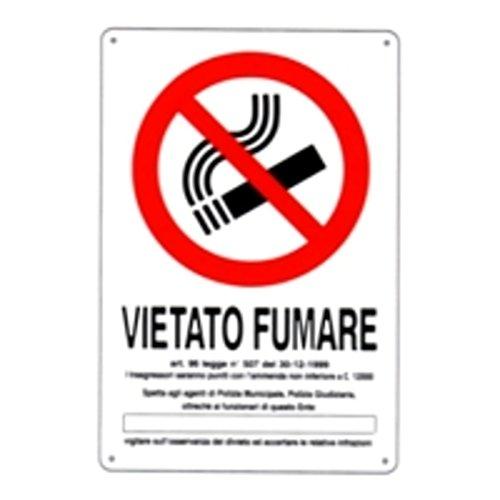 Cartel prohibido fumar DL 20 x 30 plástico [Vorsicht perro ...
