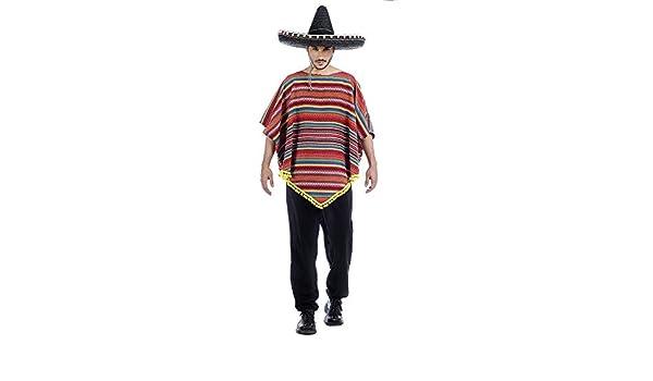 Disfraz de Mexicano a Rayas para hombre: Amazon.es: Productos para ...