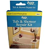 Tub and Shower Repair Kit - Bone
