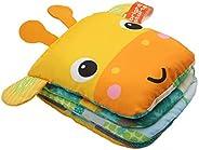 Bright Starts Playful Storytime Giraffe Soft Puppet Book, Newborn +