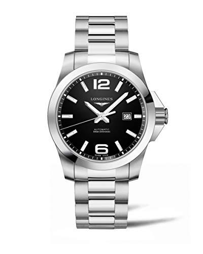 Longines Conquest Black Dial Automatic Mens Watch L37784586