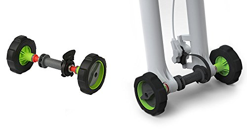 Rotating Roll Out Rack - Bopworx Detachable Bicycle Fork Guard - Protects the Bike Front Fork During Transport and Storage - Allows Upright Bike Storage