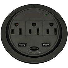 Sunway GMPT-2 PowerTap USB Power Grommet / Desk Electrical Outlet