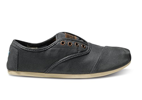 Toms Men's Cordones Shoes (M8, Ash Waxed Twill)