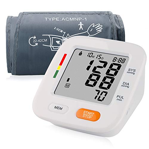 Blood Pressure Monitor with Blood Pressure Cuff 8.7-16.5 inch IHB Indicator 2 Users * 90 Times Memory Recall FDA Approved from NINILUCK