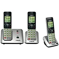 Vtech CS6619 DECT 6.0 Cordless Phone System with 3 HANDSET, Called ID / Call Waiting, Speakerphone & Conference, BRAND NEW SEALED