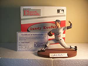Sandy Koufax Brooklyn/LA Dodgers Autographed Salvino Figurine